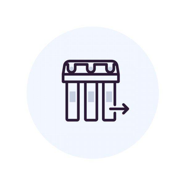 Демонтаж системы (ВатерБосс, ВатерМакс, колонны)