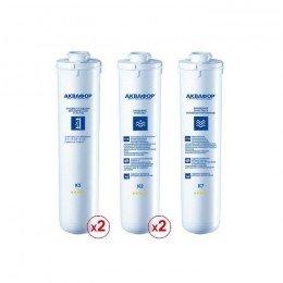 Комплект сменных модулей для Аквафор ОСМО-Кристалл 50 исп.4 на год (без мембраны)